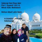 Polres Maros Halal bi halal dengan Casis Via Online
