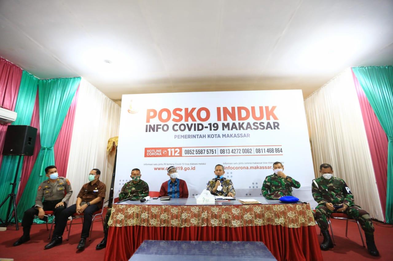 20 Juni, Pemkot Makassar Gelar Desinfektan Massal Area Publik