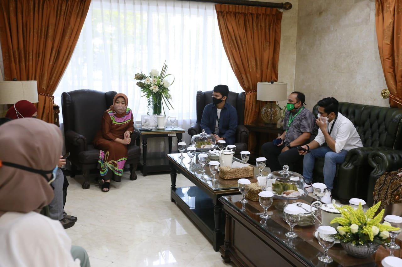 Bersama Gojek Tingkatkan Pendapatan Binaan PKK Dan Dekranasda Kota Makassar