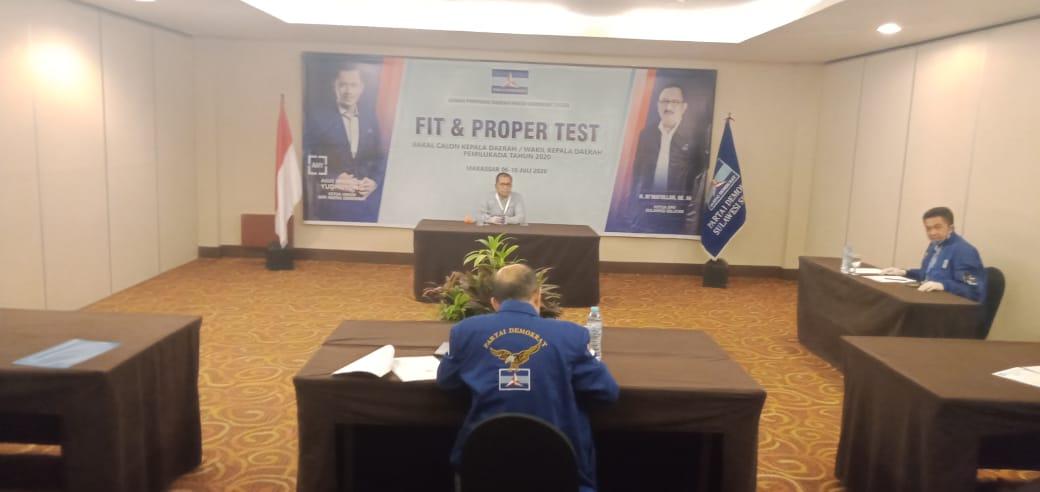 Hadiri Fit and Proper Test, DP Optimis Mengulang Sejarah Kemenangan Bersama Demokrat