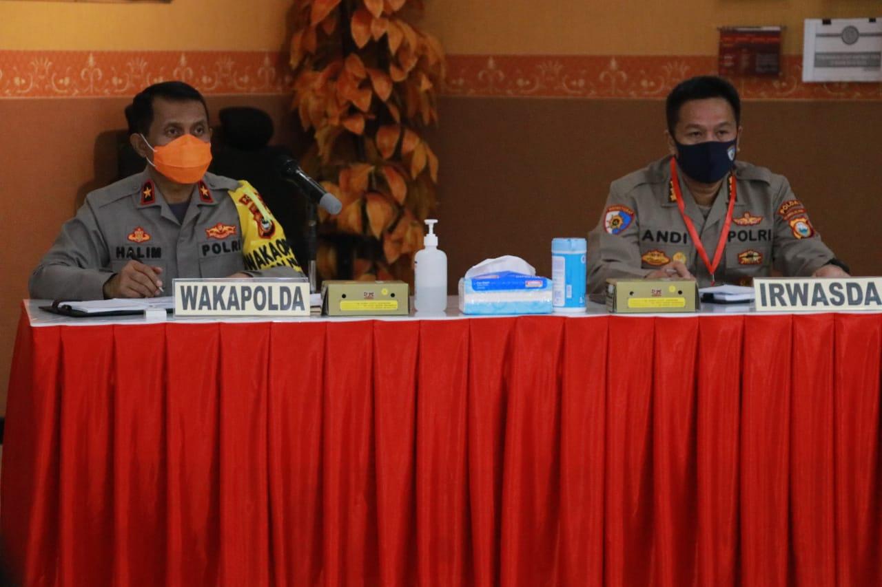 Wakapolda Sulsel Pimpin Rapat Bahas Penertiban Aspol Mappaoddang