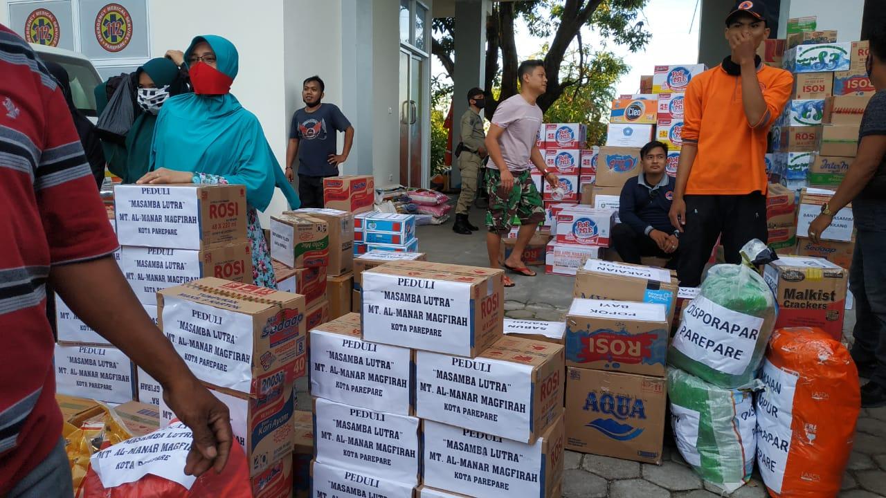 Pemkot Parepare Kirim 5.182 Bantuan Kemanusiaan Untuk Lutra