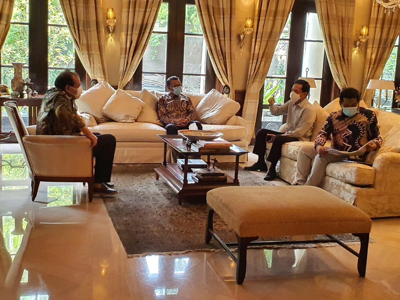 PJ Walikota Makassar Apresiasi Bos CT Corp Hibahkan Lahan untuk Proyek  Jalan Metro