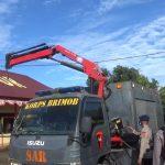 Danyon C Pelopor Periksa Kendaraan Operasional SAR