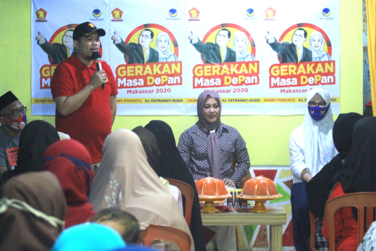 Keponakan SYL dan IAS Total Dukung Danny-Fatma