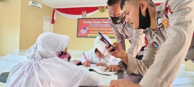 Pasang Wifi Gratis, Batalyon C Dipuji Orang Tua Murid