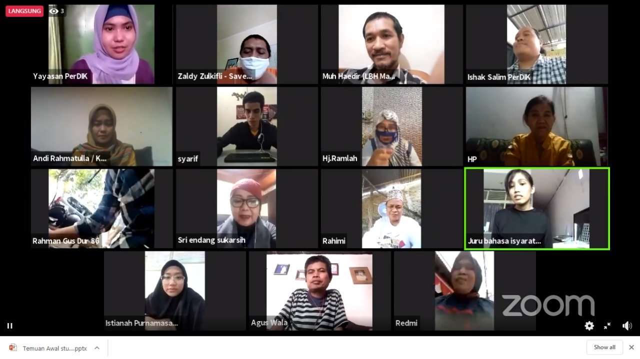 Hanya Danny yang Berdialog Dengan Warga Difabel Makassar