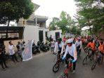 Orange Muda Gelar Fun Bike Jarak Tempuh 15 Km
