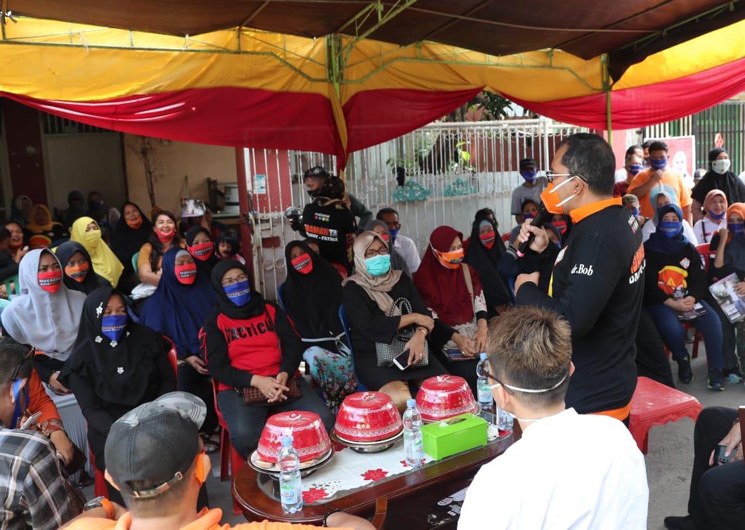 Rapatkan Barisan, Danny Pomanto Resmikan Posko Pemenangan Aby Community
