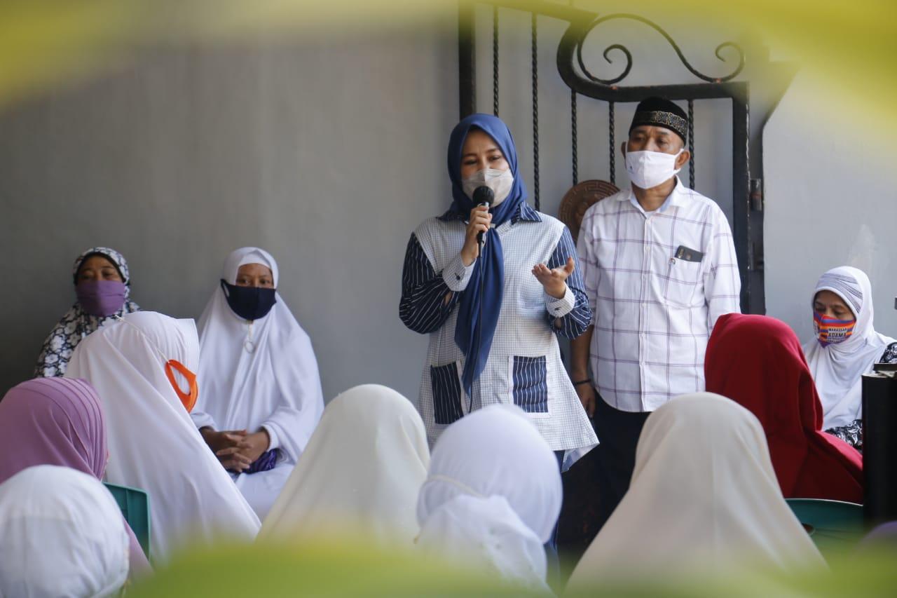 Sesama Perempuan, Majelis Taklim Bongaya Doakan Fatmawati Rusdi Jadi Wawali