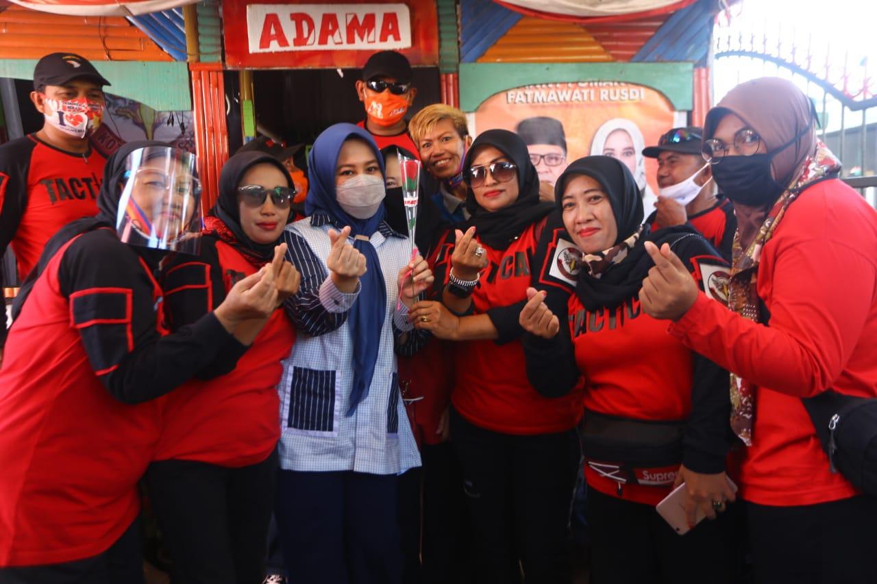 Total Dukung Danny- Fatma, Warga Bongaya Swadaya Dirikan Posko Pemenangan ADAMA