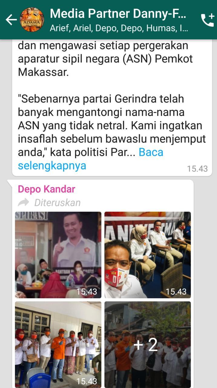 Intimidasi RT/RW, Partai Gerindra Warning Camat-Lurah