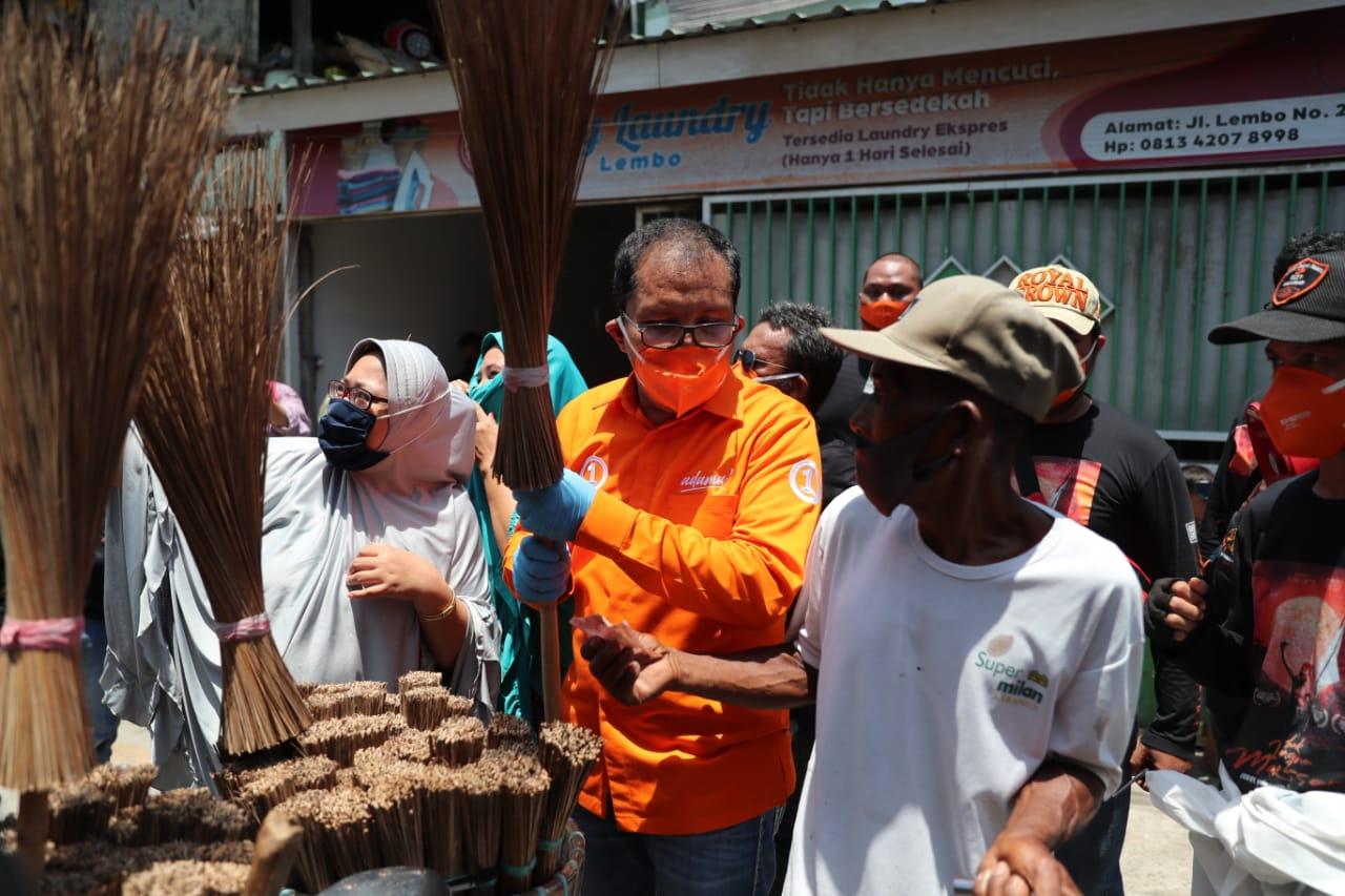Khawatir Makassar Mundur, Warga Bunga Eja Percayakan Nomor 1 Pimpin Makassar