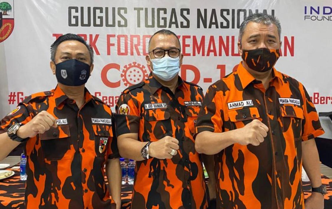 MPN Pemuda Pancasila Beri Komando Dukung Danny Pomanto di Makassar