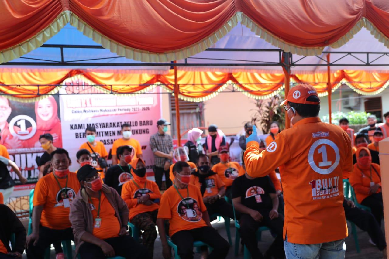 Pilih Nomor 1, Danny Tegaskan Komitmen Siapkan Waktu Untuk Rakyat di Amirullah