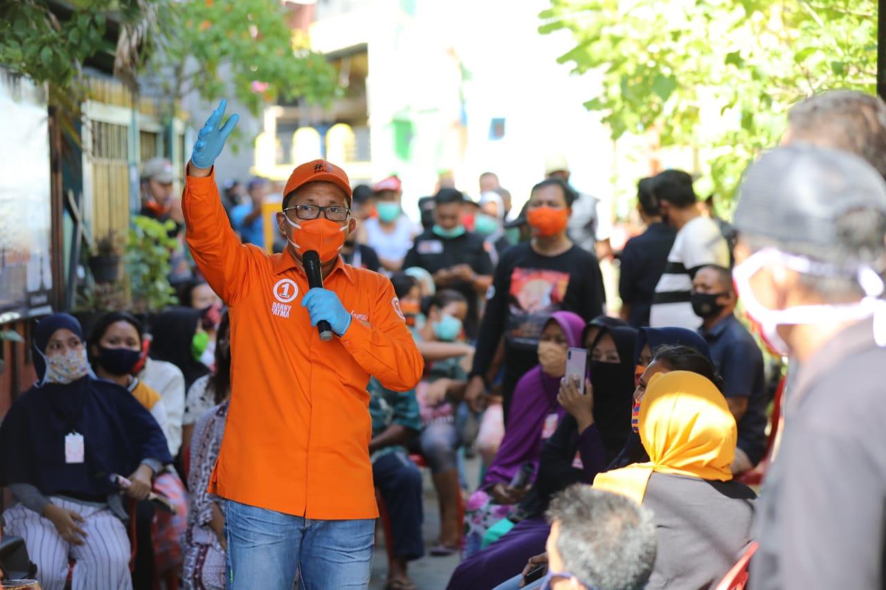 Tingkatkan Kesejahteraan Warga, Danny Janji Kembalikan Program Lorong Wisata