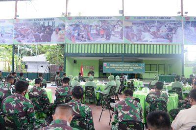 Kasrem 141/Tp Buka Kegiatan Pembinaan Antisipasi Balatkom