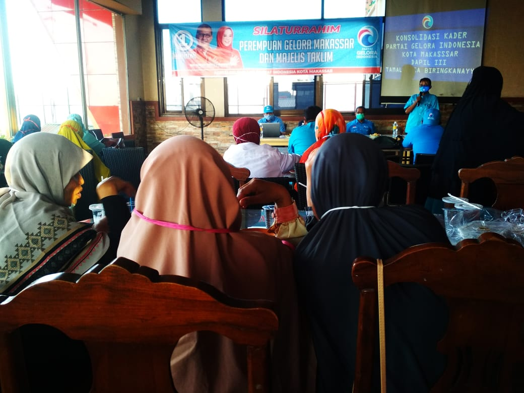 Makin Solid, Gelora Makassar Satukan Gerakan Untuk Menangkan ADAMA