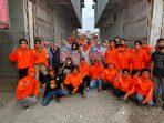 OranGe Muda Kampanyekan ADAMA Bagi-bagi Masker di Mamaja