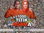 Relawan Sons Of Adam Sosialisasikan ADAMA di Seribu Titik