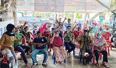 Tokoh Masyarakat Tugondeng Serukan Herlang Pilih Kacamatayya