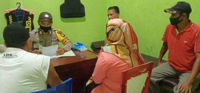 Bhabinkamtibmas bersama Ketua FKPM Desa Tacorong Lakukan Problem Solving