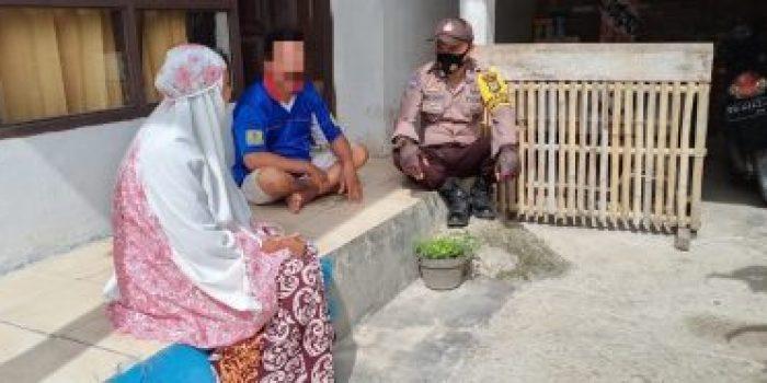 Kasus KDRT di Desa Polewali Berhasil Didamaikan oleh Bhabinkamtibmas