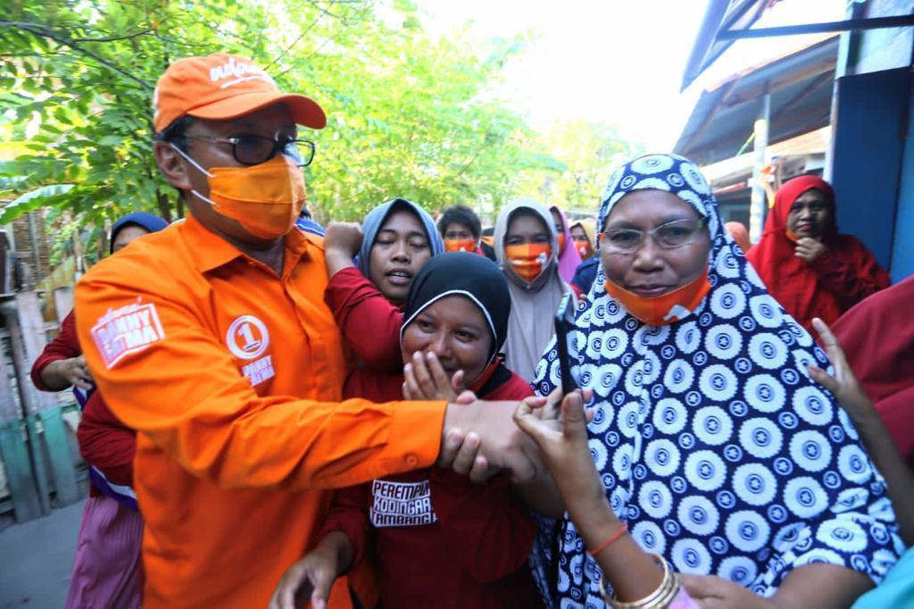 Survei Danny-Fatma Melejit, Kampanye Hitam Isu SARA Pun Disebar Lawan Politik