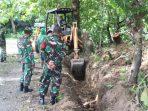 Letkol Czi Arianto Wibowo, Tinjau Pelaksanaan Pra TMMD ke 110 Tahun 2021 Kodim 1405/Mlts