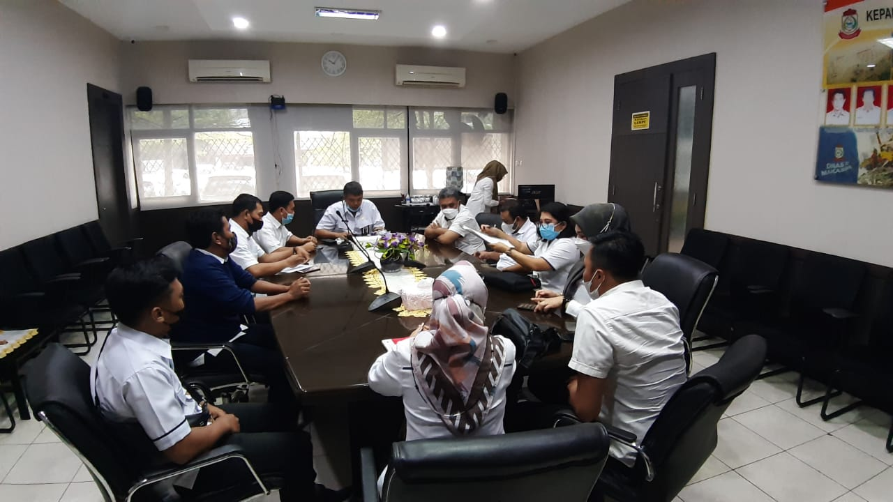 DPU-PDAM Makassar Kolaborasi Bahas Pemasangan Pipa Utilitas Air Minum