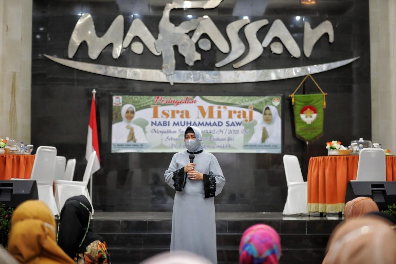 Isra Mi'raj Nabi Muhammad SAW 1442 H, DWP Kota Makassar Perkuat Silaturahmi