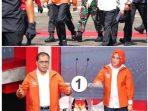 Presiden Jokowi Kenakan Jaket Warna Orange Mirip yang Dipakai Danny-Fatma, Begini Penampakannya