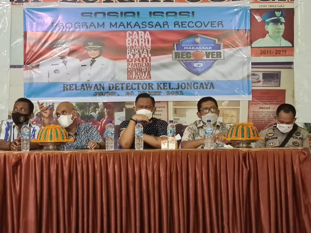 Sukseskan Makassar Recover, Fahyuddin Yusuf Minta Warga Patuhi Prokes