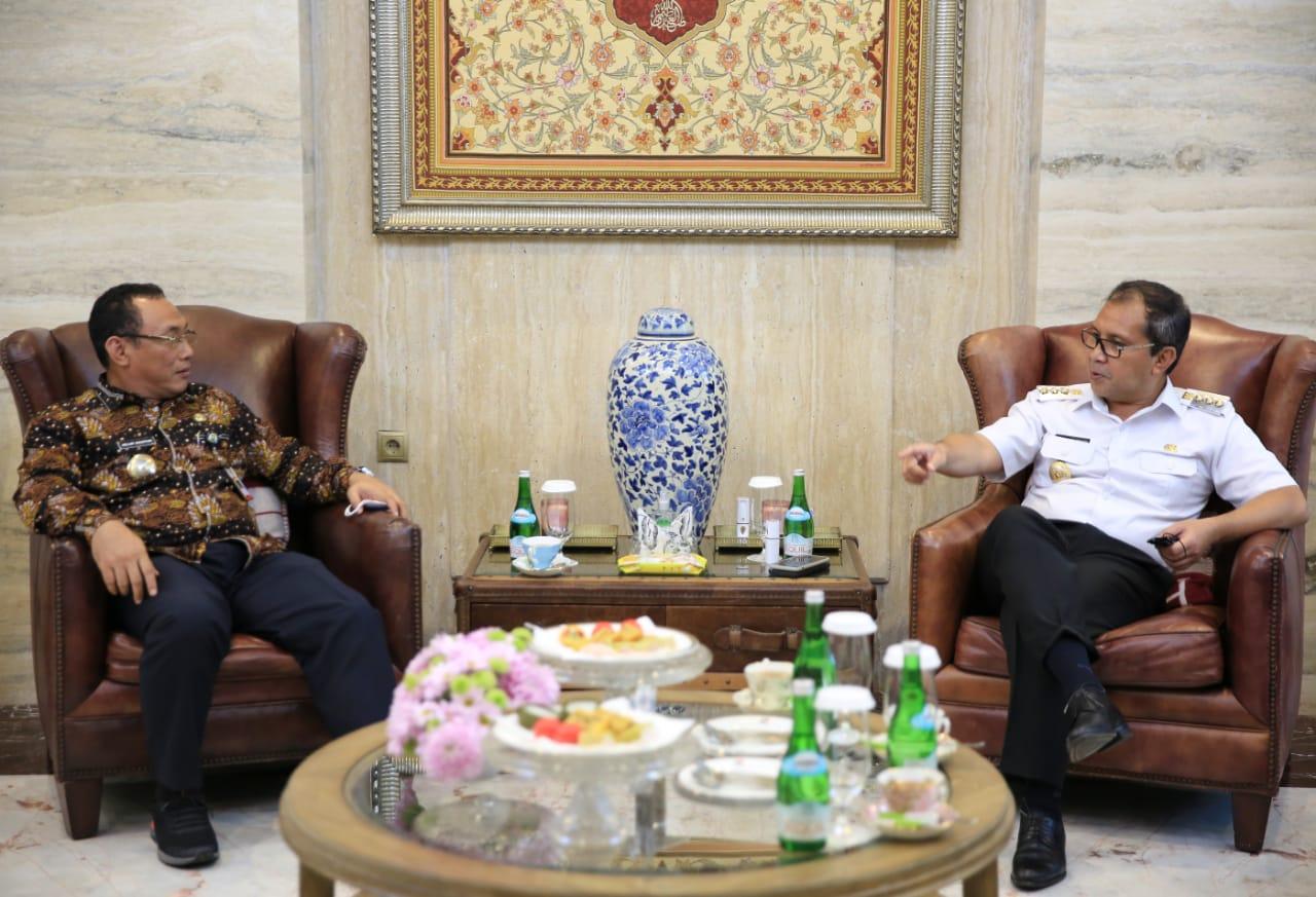 """Tertarik Sistem Kerja CCTV di Makassar, Walikota Cilegon """"Berguru"""" ke Danny Pomanto"""