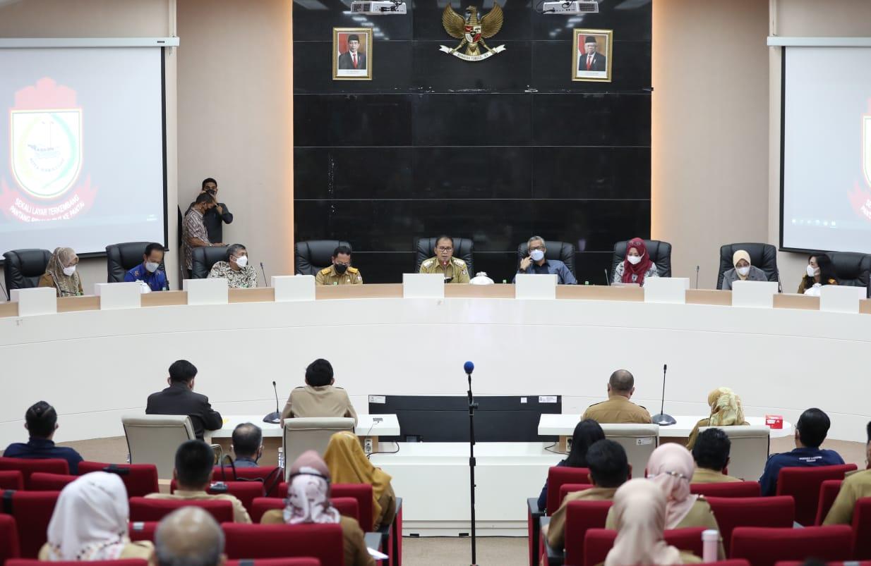 Tugaskan OPD, Danny Targetkan Makassar Recover Terpenuhi