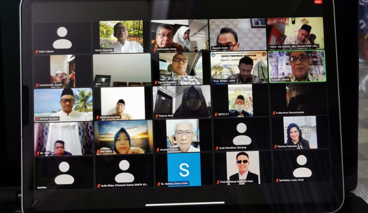 Birokrat dan Professor se Kota Makassar Dukung Program Danny