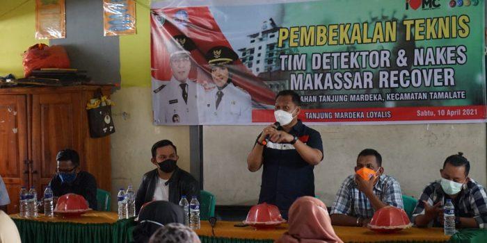 Jelang Ramadhan, Fahyuddin Yusuf Intensifkan Pembekalan Terkait Pelaksanaan Makassar Recover