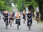 Sambut Ramadhan, Indira Yusuf Ismail Gowes Bareng DWP