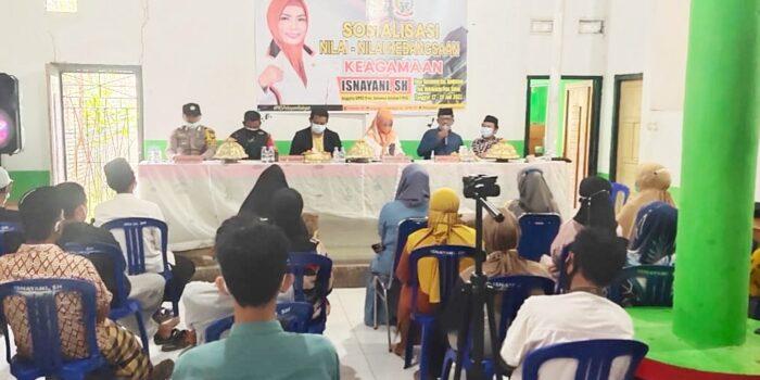 Bripka Baso Supri Manfaatkan Reses Anggota DPRD Ajak Warga Patuhi Prokes