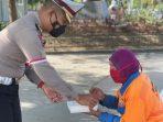 Kasat Lalin Polrestabes Aktif Berbagi ditengah Pandemi